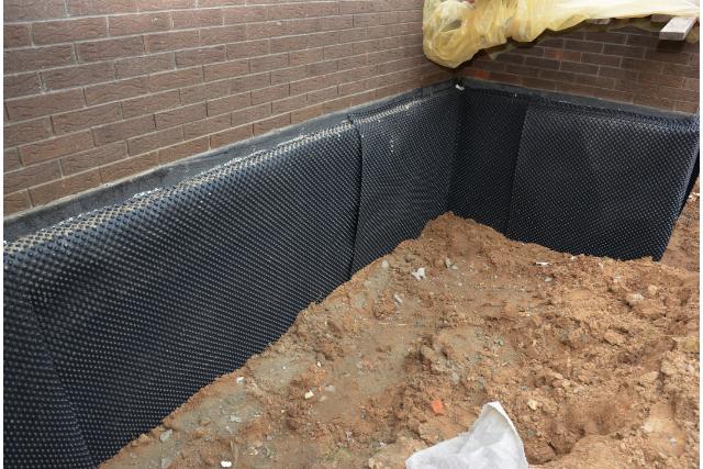 Gresham new exterior basement waterproofing
