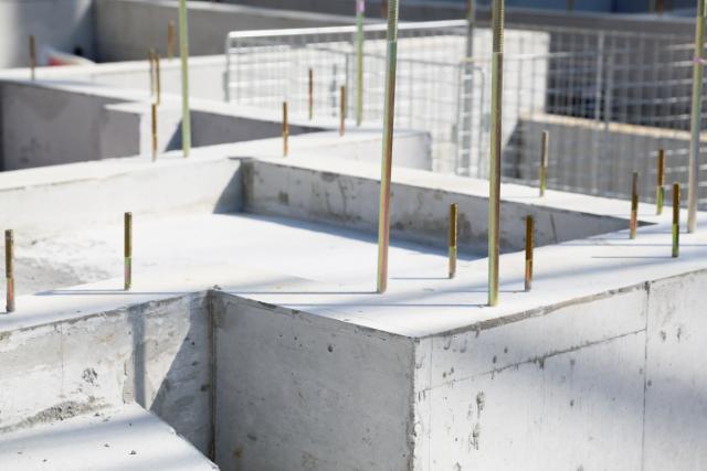 Gresham New Concrete Foundation Project