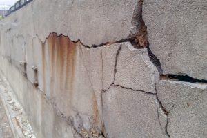 Gresham old foundation wall